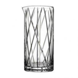 Orrefors City Mixing Glas Drinkkisetti Sekoituslusikalla Kirkas 65 Cl