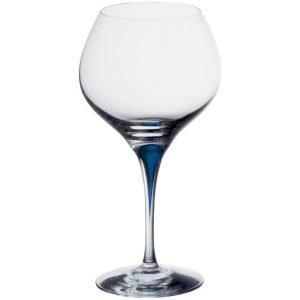 Orrefors Intermezzo Sininen Bouquet Viininmaistelulasi 70 Cl