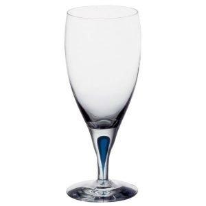 Orrefors Intermezzo Sininen Jäävesilasi 47 Cl