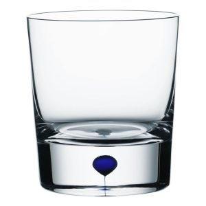 Orrefors Intermezzo Sininen Viskilasi Of 25 Cl