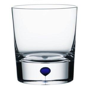 Orrefors Intermezzo Sininen Whisky Viskilasi Of 25 Cl