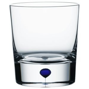 Orrefors Intermezzo Sininen Whiskylasi Dof 40 Cl