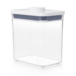 Oxo Pop Säilytyspurkki Valkoinen 1.6 L
