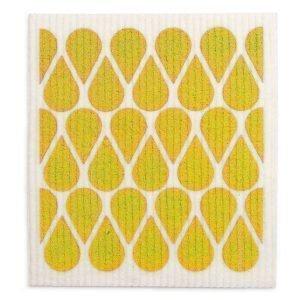 Pappelina Otis Tiskirätti Mustard 17x20 Cm 2-Pakkaus