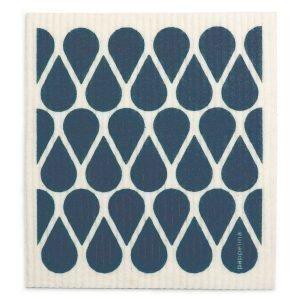 Pappelina Otis Tiskirätti Ocean Blue 17x20 Cm 2-Pakkaus