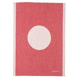 Pappelina Vera Pyyheliina Red 46x66 Cm