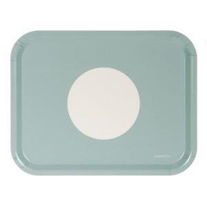 Pappelina Vera Tarjotin Turquoise 36x28 Cm