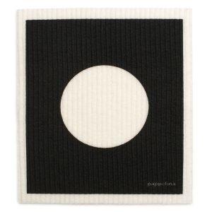 Pappelina Vera Tiskirätti Black 17x20 Cm 2-Pakkaus