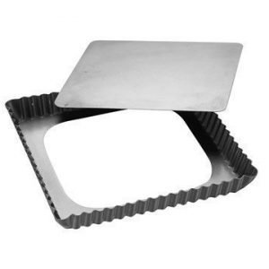Patisse Silvertop Piirakkavuoka 21x21 cm hopea