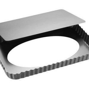 Patisse Silvertop Piirakkavuoka hopea 32x22 cm