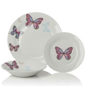 Perhoset Lautassarja 12-Osainen