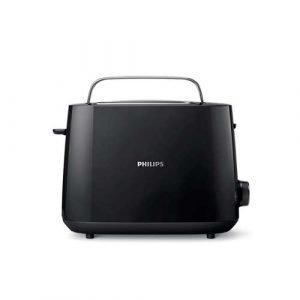 Philips Hd2581 / 90 Leivänpaahdin 2 Viipaletta Musta
