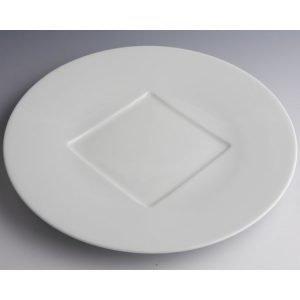 Pillivuyt Grand Chef Lautanen Neliöllä Valkoinen