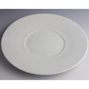 Pillivuyt Grand Chef Lautanen Suurella Ympyrällä Valkoinen
