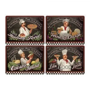 Pimpernel Chef's Specials Pöytätabletti 4-Pakkaus