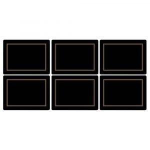 Pimpernel Classic Black Pöytätabletti 6-Pakkaus