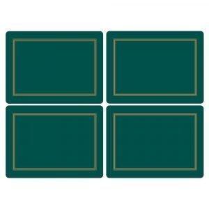 Pimpernel Classic Emerald Pöytätabletti 4-Pakkaus