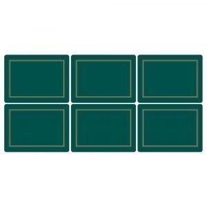 Pimpernel Classic Emerald Pöytätabletti 6-Pakkaus