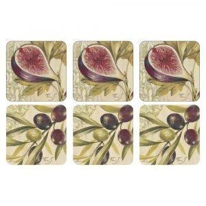 Pimpernel Olives & Figs Lasinalunen 6-Pakkaus