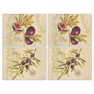 Pimpernel Olives & Figs Pöytätabletti 4-Pakkaus