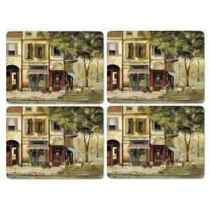 Pimpernel Parisian Scenes Pöytätabletti 4-Pakkaus