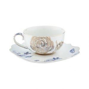 Pip Studio Royal White Teekuppi Ja Asetti