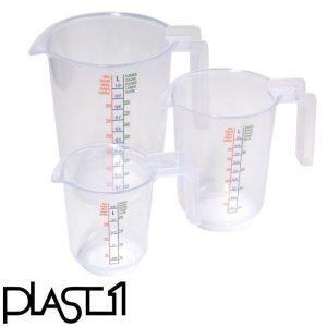 Plast1 Mittakannusetti 3-Osainen