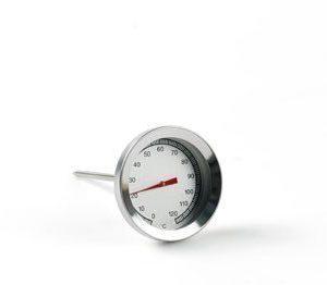 Plus termometre Paistomittari pyöreä 530 teräksinen