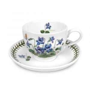 Portmeirion Botanic Garden Teekuppi Ja Aluslautanen Helmikuu