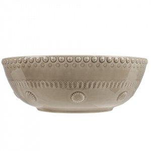 Potteryjo Daisy Salaattikulho Greige 30 Cm