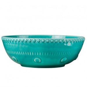 Potteryjo Daisy Salaattikulho Turkoosi 30 Cm