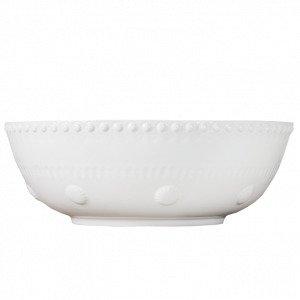 Potteryjo Daisy Salaattikulho Valkoinen 30 Cm