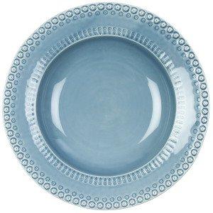 Potteryjo Daisy Tarjoilukulho Dusty Blue 35 Cm