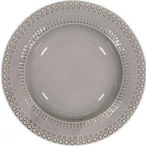 Potteryjo Daisy Tarjoilukulho Soft Grey 35 Cm
