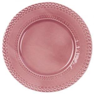Potteryjo Daisy Tarjoilulautanen Roosa 35 Cm