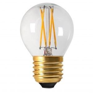 Pr Home Elect Led Lamppu Pyöreä Filament E27 210 Lm Kirkas