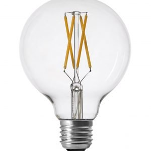 Pr Home Shine Led Lamppu Filament Globe 800 Lm Kirkas 95 Mm