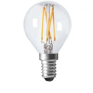 Pr Home Shine Led Lamppu Pyöreä Filament E14 470 Lm Kirkas