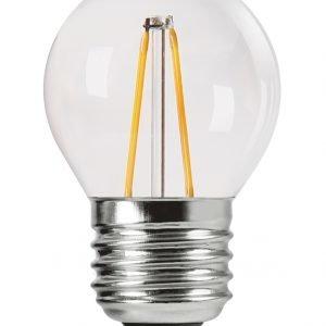 Pr Home Shine Led Lamppu Pyöreä Filament E27 250 Lm Kirkas