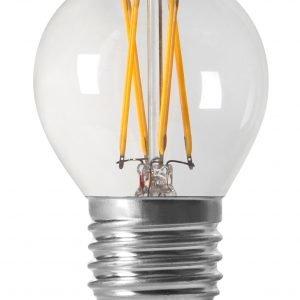 Pr Home Shine Led Lamppu Pyöreä Filament E27 470 Lm Kirkas