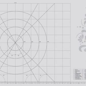 Pufz Pro Edition Leivonta Alusta Silikoni 55x90 Cm