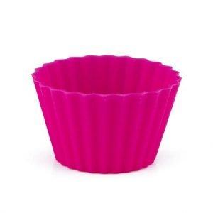 Pufz Toffeevuoat Silikoni Vaaleanpunainen 40 Kpl