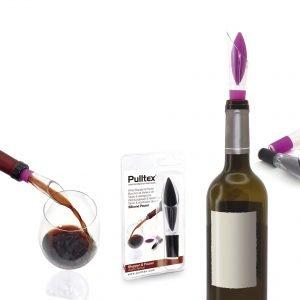 Pulltex Pulltaps Basics Viinipullon Sulkija Ja Kaatonokka Multi