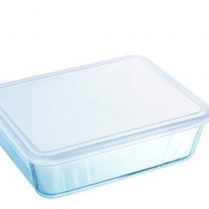 Pyrex Cook & Freeze Uunivuoka Kannella Lasi Kirkas 2.5 L