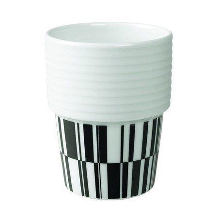 Rörstrand Filippa K Kahvi-/teemuki 2pack 31 cl Deco/musta