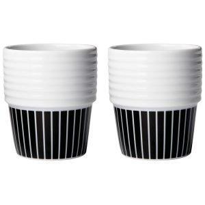 Rörstrand Filippa K Pinstripes Espressomukit 2 Kpl