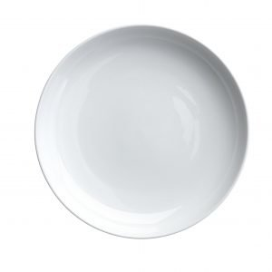 Rörstrand Inwhite Syvä Lautanen Valkoinen 21 Cm