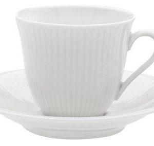 Rörstrand Swedish Grace Vati kahvikupille 16 cl snö