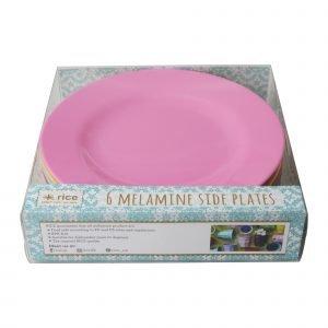 Rice Classic Colors Asetti Melamiini 20 Cm 6 Kpl