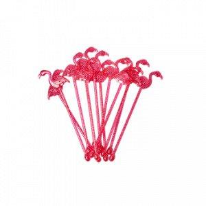 Rice Drinkkitikut Flamingo Vaaleanpunainen 12 Kpl